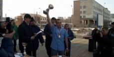 Состоялись соревнования по рыбной ловле между судебными приставами и журналистами Курганской области