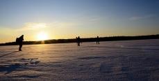 Ловли судака зимой и её особенности