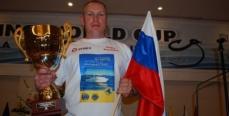 Барнаульский спортсмен-рыболов Сергей Казанцев – призёр V Кубка мира