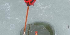 Поплавочная удочка для зимней рыбалки