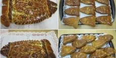 Пирог из судака с капустой
