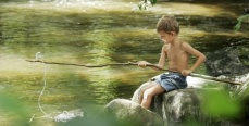 Как мы рыбачили в детстве