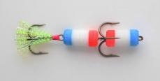 Поролоновая рыбка – одна из лучших приманок для ловли хищника